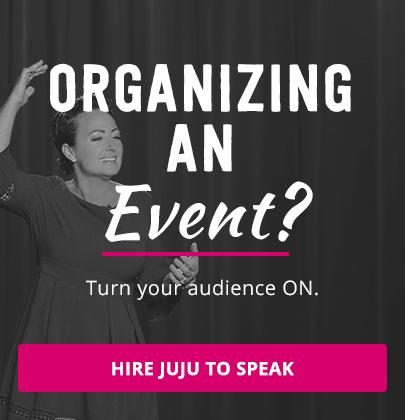 Organizing an Event? -- Hire Juju to Speak